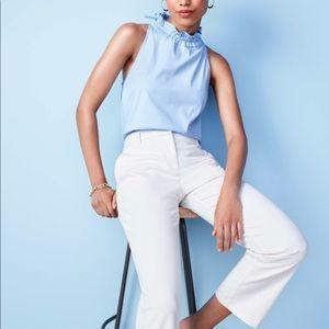 Ann Taylor | High neck keyhole sleeveless top.